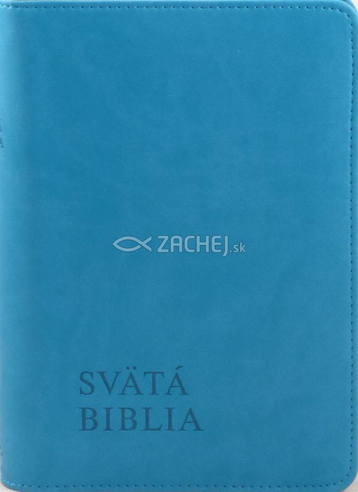 Svätá Biblia - Roháčkov preklad - tyrkysová