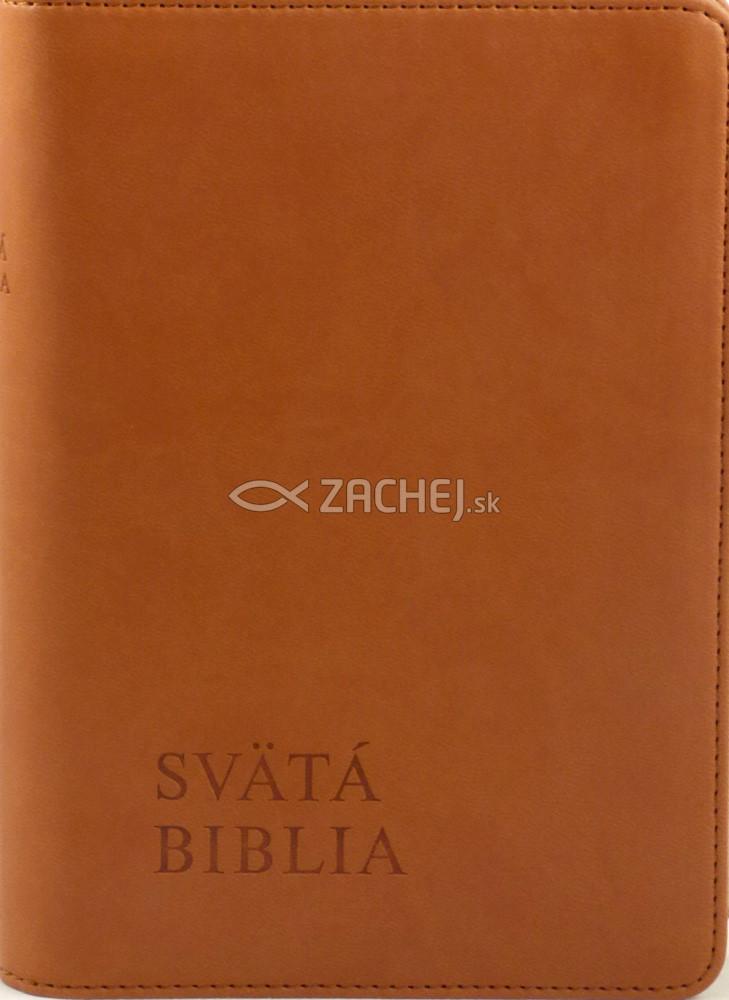 Svätá Biblia - Roháčkov preklad - hnedá