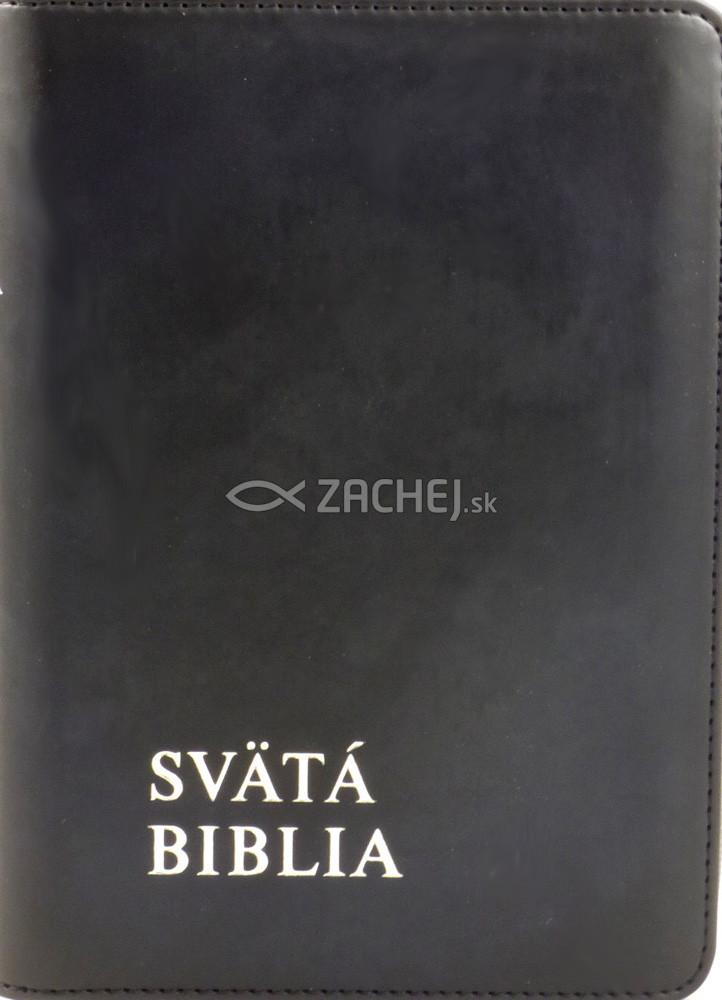 Svätá Biblia - Roháčkov preklad - čierna