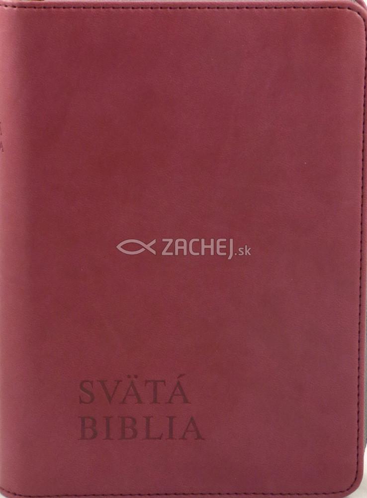 Svätá Biblia - Roháčkov preklad - bordová