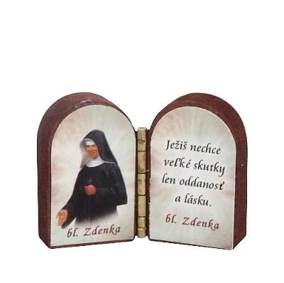 Oltárik: Bl. Zdenka (3CM-12)