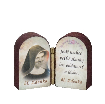 Oltárik: Bl. sestra Zdenka (3CM-13)