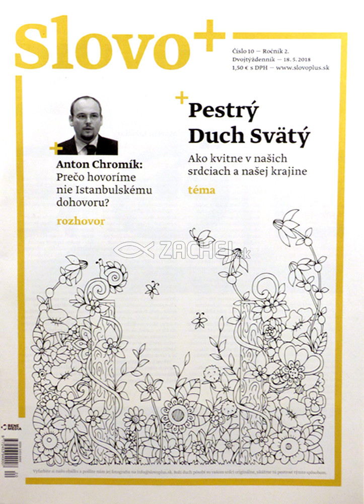 Časopis: Slovo+ 10/2018 - Kresťanské noviny, dvojtýždenník