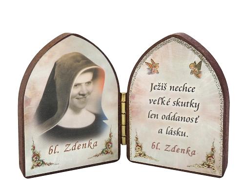 Oltárik: Bl. sestra Zdenka - tvár (5,5CM-14)