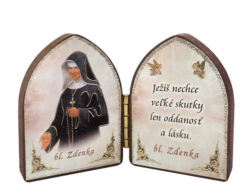 Oltárik: Bl. sestra Zdenka (5,5CM-11)