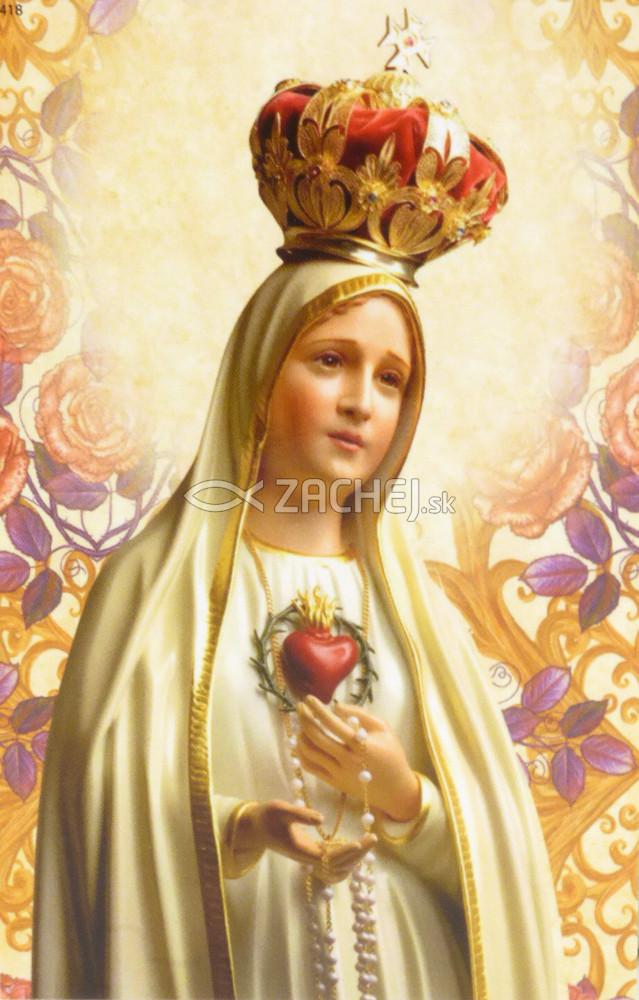 Obrázok: Modlitba pred svätou omšou (418/245) - laminovaný