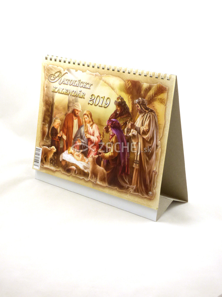 Kalendár: katolícky, stolový - 2019 (ZAEX)