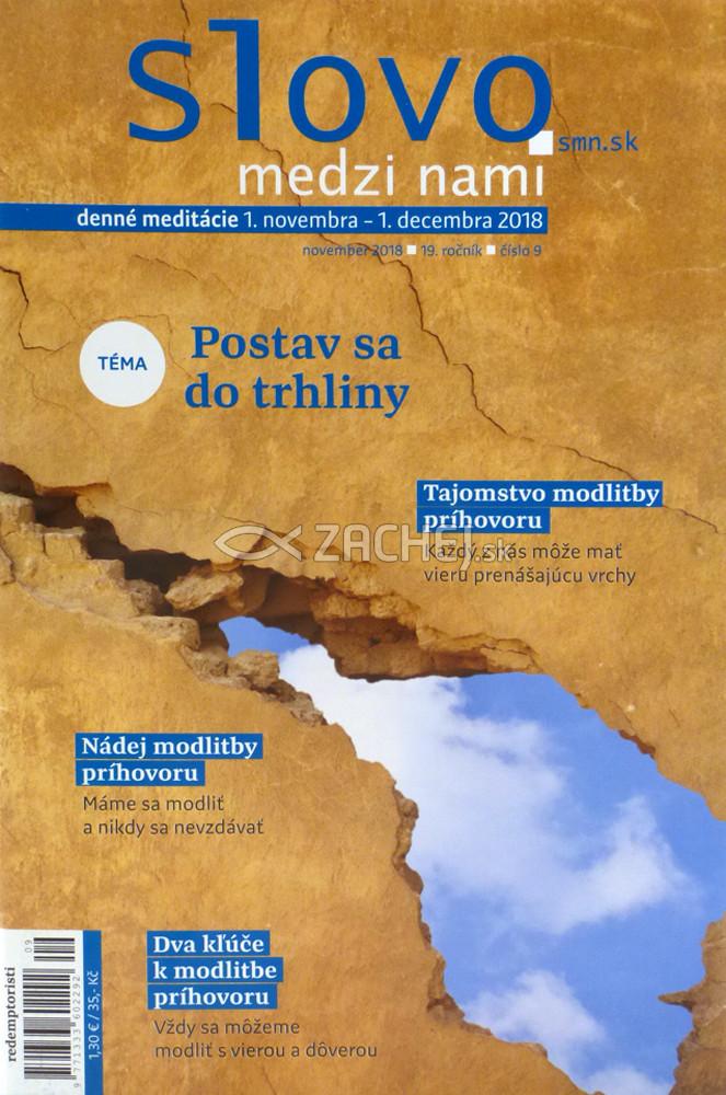 Mesačník: Slovo medzi nami / november 2018 č.9