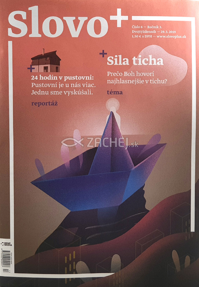 Časopis: Slovo+ 6/2019 - Kresťanské noviny, dvojtýždenník