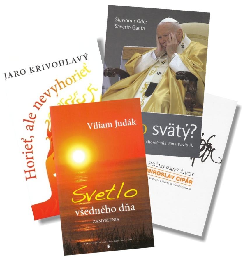 Sada: Horieť, ale nevyhorieť + Počmáraný život + Prečo svätý? + Svetlo všedného dňa (KNA 3)