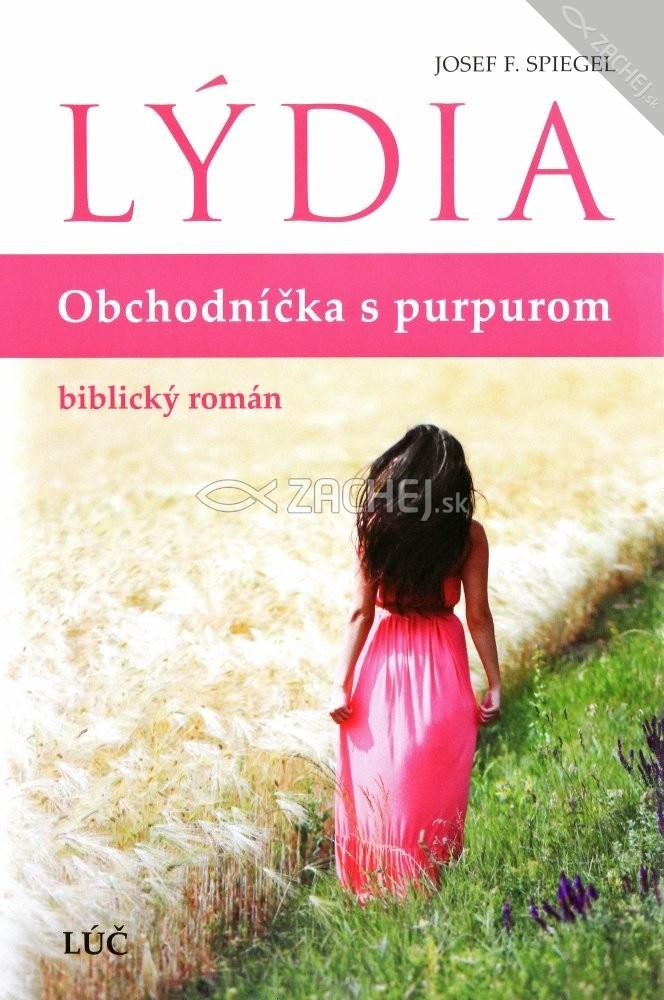 Lýdia - Obchodníčka s purpurom - biblický román