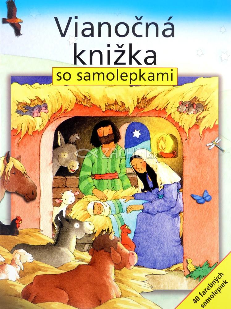 Vianočná knižka so samolepkami