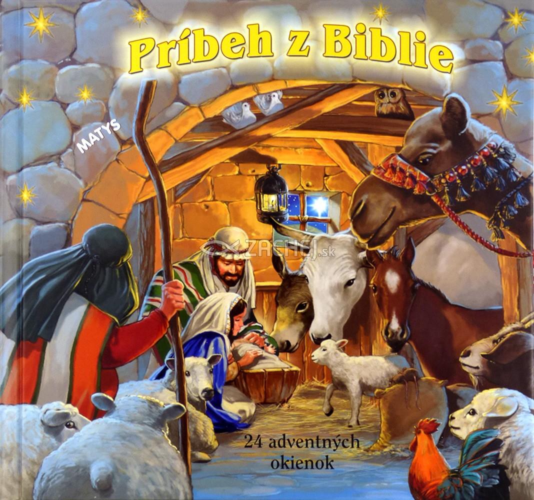 Príbeh z Biblie (leporelo) - 24 adventných okienok