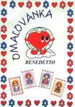 Omaľovánka - Benedetto