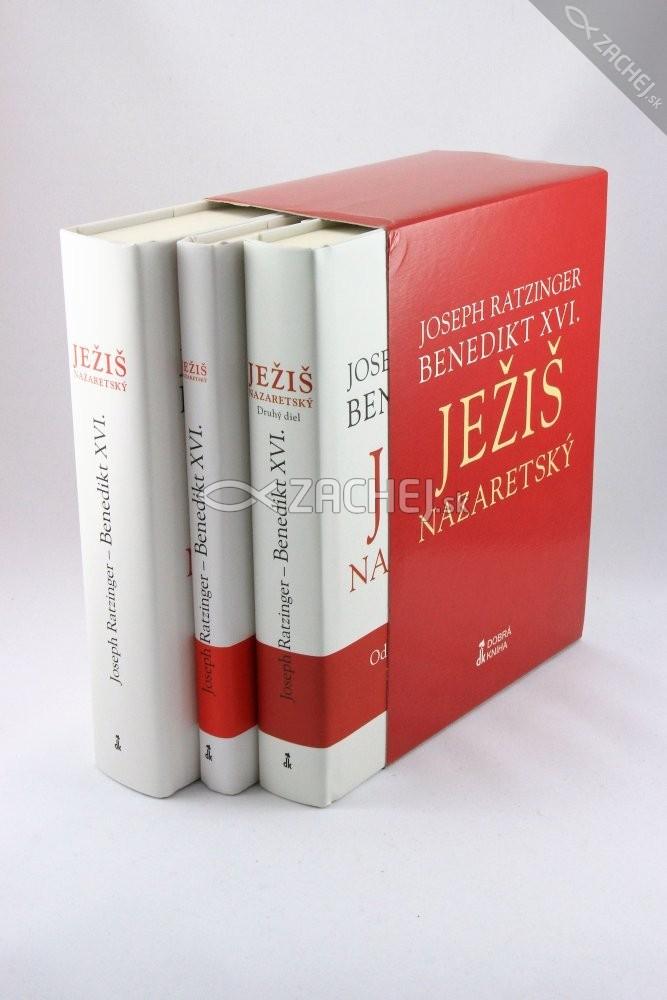 Ježiš Nazaretský 1. - 3. diel - sada v darčekovom balení