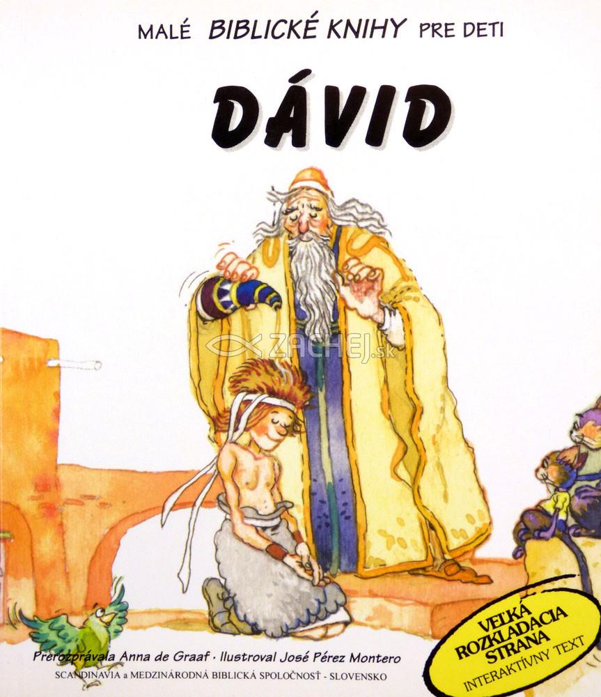 Dávid - Malé Biblické knihy pre deti