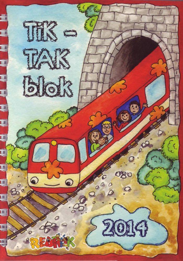 Tik - tak blok 2014 - Diár pre deti