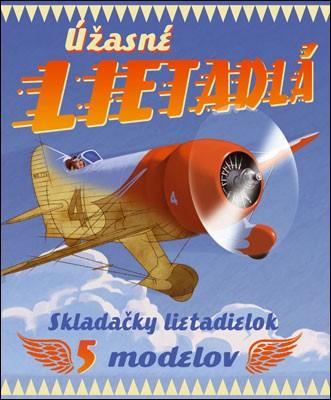 Úžasné lietadlá - Skladačky lietadielok - 5 modelov