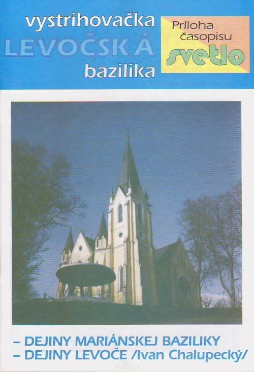 Levočská bazilika - Vystrihovačka