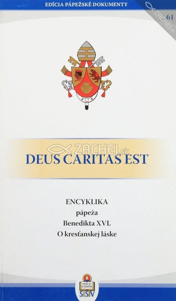 Deus caritas est - O kresťanskej láske