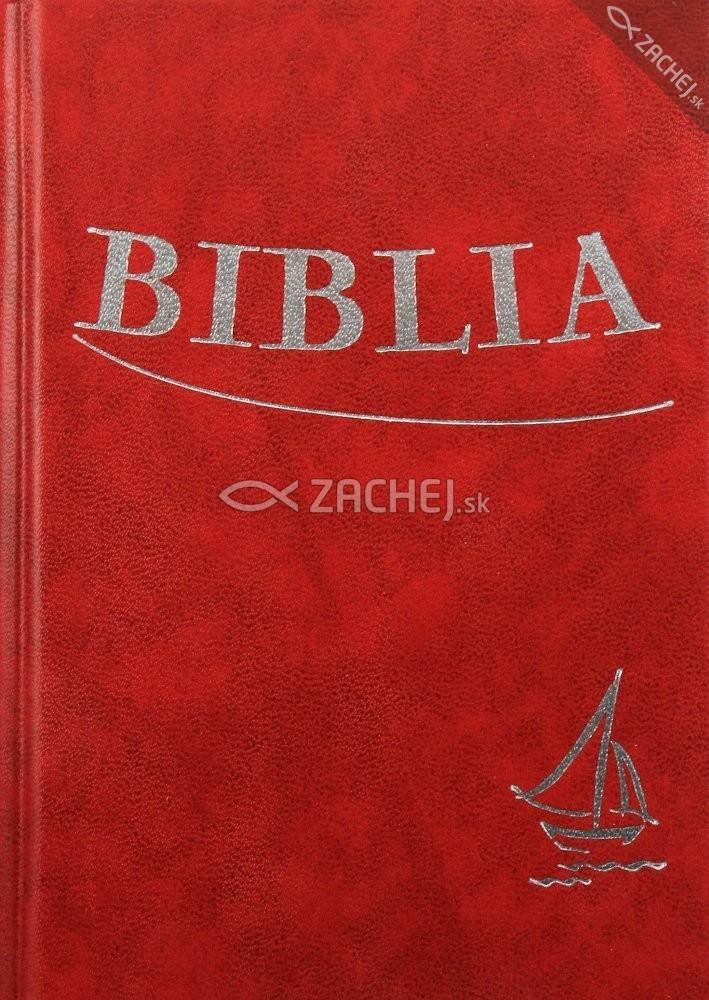 Biblia - bordová (tvrdá väzba) - Sväté Písmo Starého a Nového zákona