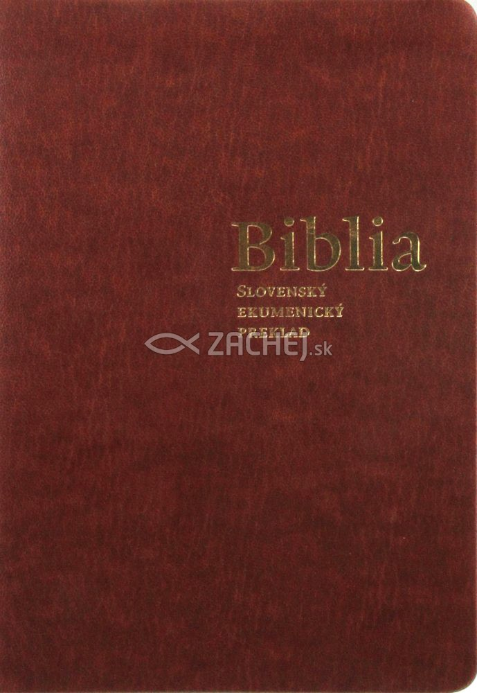 Biblia - Slovenský ekumenický preklad (s DT knihami) - vrecková; s deuterokánonickými knihami