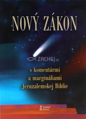 Nový zákon (mäkká väzba) - S komentármi a margináliami Jeruzalemskej Biblie