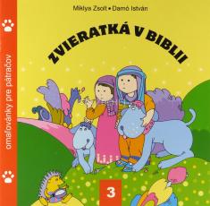 Zvieratká v Biblii 3. - omaľovánky pre pátračov