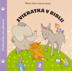Zvieratká v Biblii 2. - omaľovánky pre pátračov