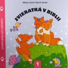 Zvieratká v Biblii 1. - omaľovánky pre pátračov