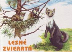 Lesné zvieratá - leporelo