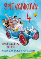 DVD - Spievankovo 4 - Veselá angličtina pre deti - Príbehy zajka Smejka a víly Nezábudky