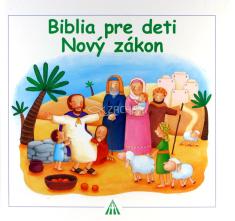 Biblia pre deti - Nový zákon - pre deti 3+