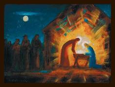 Obraz na plátne: Betlehem (30x21)