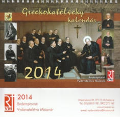 Kalendár 2014 stolový (gréckokatolícky)