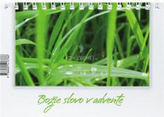 Adventný kalendár - Božie slovo v advente - stolový kalendár