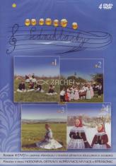 4 DVD - Sedmihlásky