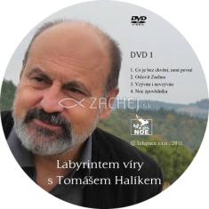 2 DVD - Labyrintem víry s Tomášem Halíkem