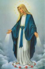 Jednotný katolícky spevník (znotovaný modrý) - s obrázkom Panny Márie zázračnej medaily