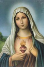 Jednotný katolícky spevník (znotovaný modrý) - s obrázkom Nepoškvrneného srdca Panny Márie