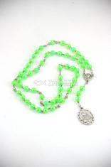 Ruženec sedembolestný (zelený) - perleťový