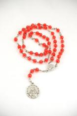 Ruženec sedembolestný (červený) - perleťový