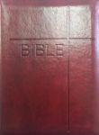 Bible - obal se zipem, vínová (kat. čís. 1149) - Český ekumenický překlad s deuterokanonickými knihami