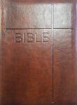 Bible - obal se zipem, hnědá (kat. čís. 1148) - Český ekumenický překlad s deuterokanonickými knihami