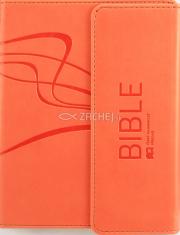 Bible ekumenický preklad s magnetovou klopou - včetne deuterokanonických knih