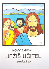 Ježíš učitel (omalovánky) - Nový zákon II.