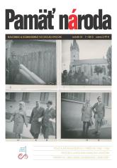 Časopis Pamäť národa 1/2013