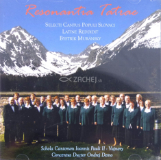 CD: Resonantia Tatrae - Selected Slovak Songs in Latin