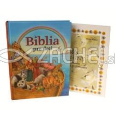 Sada Biblia pre deti + Môj pamätník - Balíček vhodný ako dar k prvému svätému prijímaniu