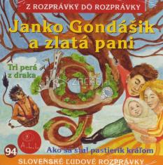 CD - Janko Gondášik a zlatá pani